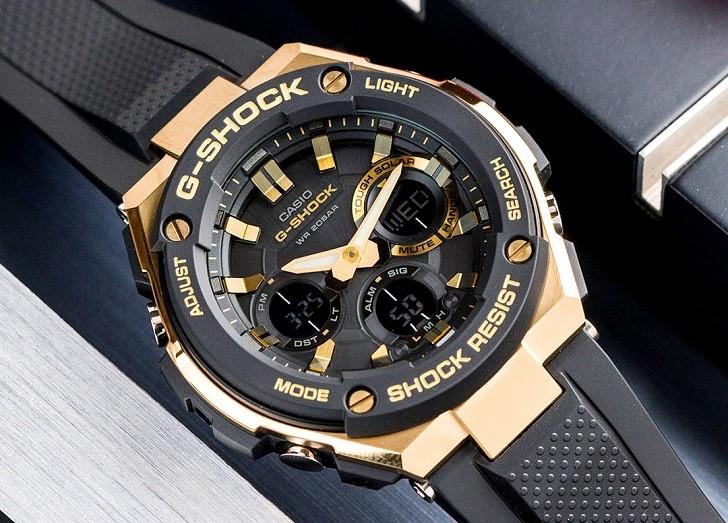 Đồng hồ G-Shock GST-S100G-1ADR tích hợp nhiều tính năng thể thao - Ảnh 6