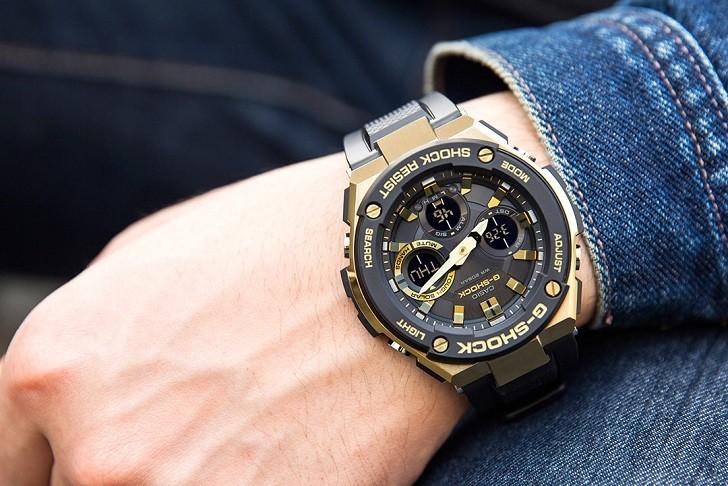Đồng hồ G-Shock GST-S100G-1ADR tích hợp nhiều tính năng thể thao - Ảnh 3