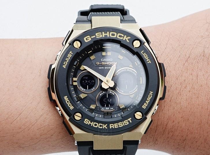 Đồng hồ G-Shock GST-S100G-1ADR tích hợp nhiều tính năng thể thao - Ảnh 1