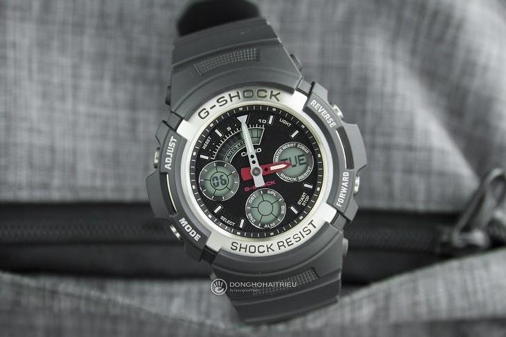Đồng hồ nam G-Shock AW-590-1ADR giá rẻ, thay pin miễn phí - Ảnh 1