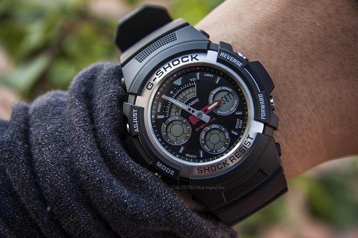 Đồng hồ nam G-Shock AW-590-1ADR giá rẻ, thay pin miễn phí - Ảnh 2