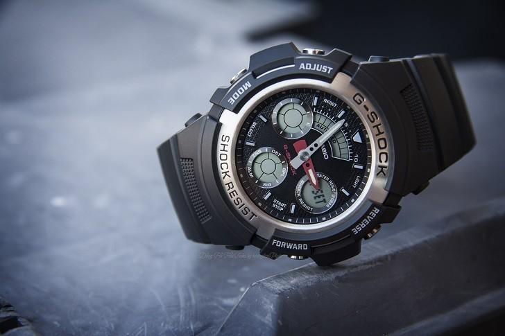 Đồng hồ nam G-Shock AW-590-1ADR giá rẻ, thay pin miễn phí - Ảnh 3