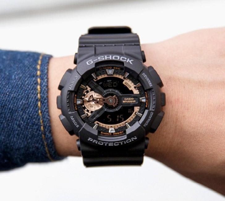 Đồng hồ G-Shock GA-110RG-1ADR giá rẻ, thay pin miễn phí - Ảnh 2