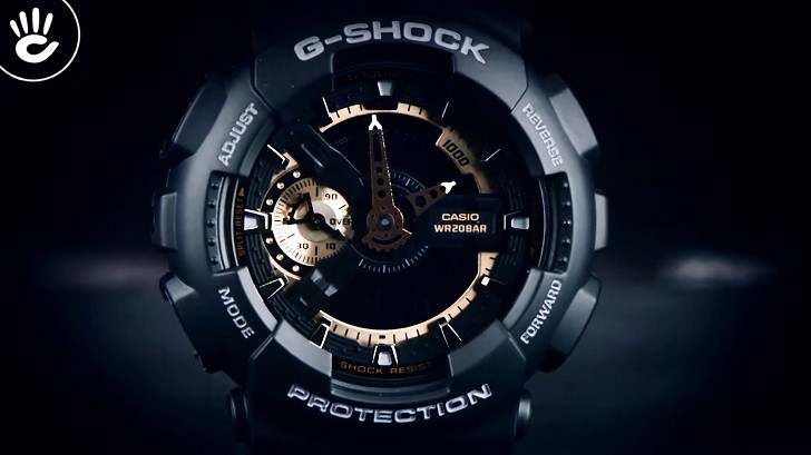 Đồng hồ G-Shock GA-110RG-1ADR giá rẻ, thay pin miễn phí - Ảnh 5