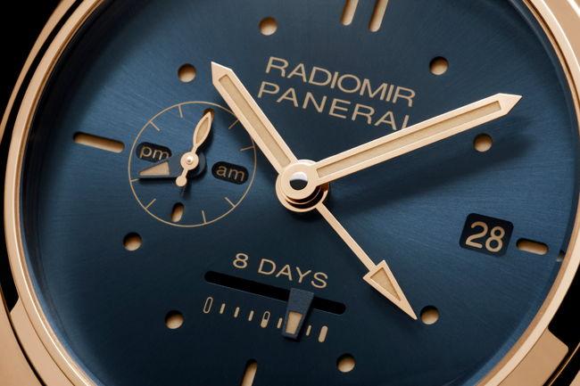 Panerai Radiomir Và Luminor, Huyền Thoại Đồng Hồ Lặn Của Hải Quân Ý Oro Rosso