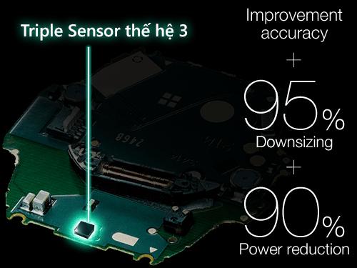 Như Thế Nào Là Triple Sensor – Bộ Ba Cảm Biến Trên Đồng Hồ Casio Gen3