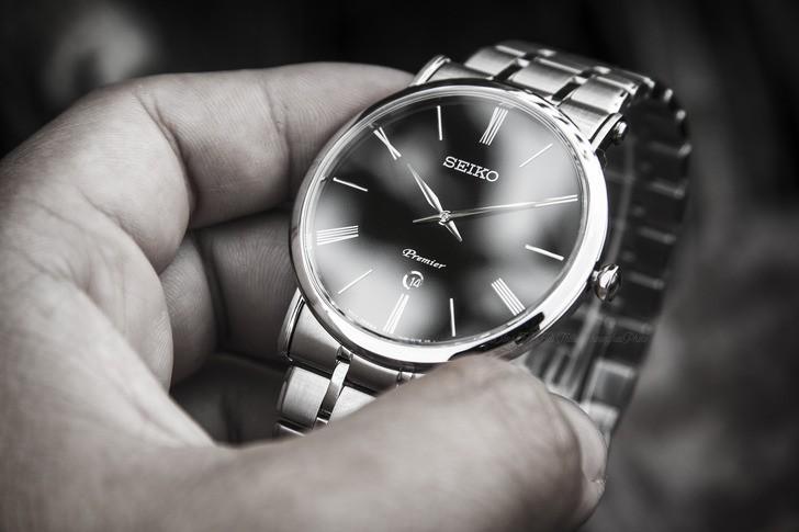 Đồng hồ Seiko SKP393P1 sang trọng, kính sapphire cao cấp - Ảnh 2
