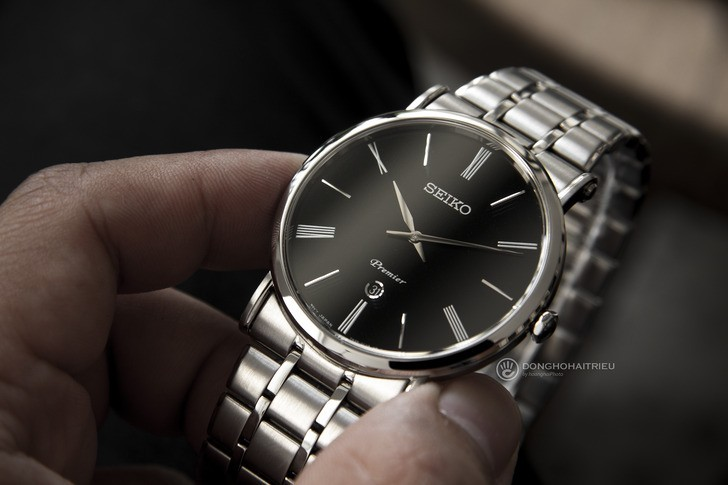 Đồng hồ Seiko SKP393P1 sang trọng, kính sapphire cao cấp - Ảnh 6