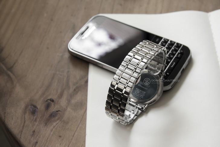 Đồng hồ Seiko SKP393P1 sang trọng, kính sapphire cao cấp - Ảnh 4