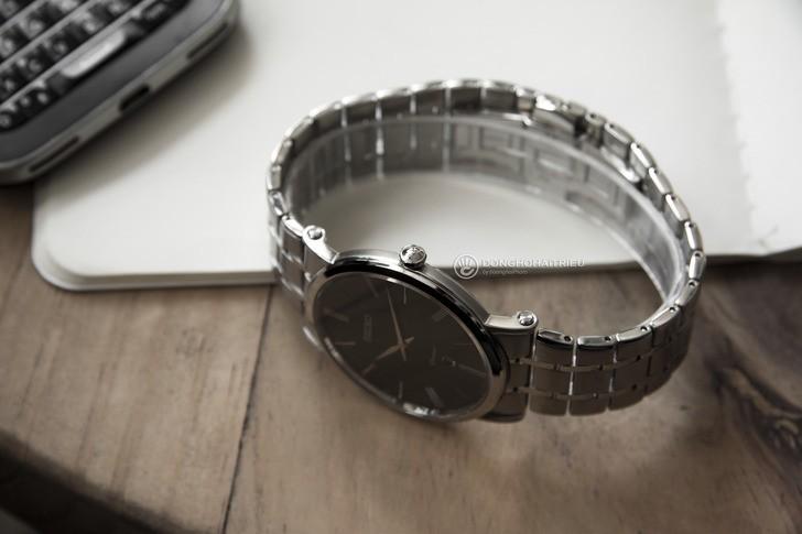 Đồng hồ Seiko SKP393P1 sang trọng, kính sapphire cao cấp - Ảnh 5
