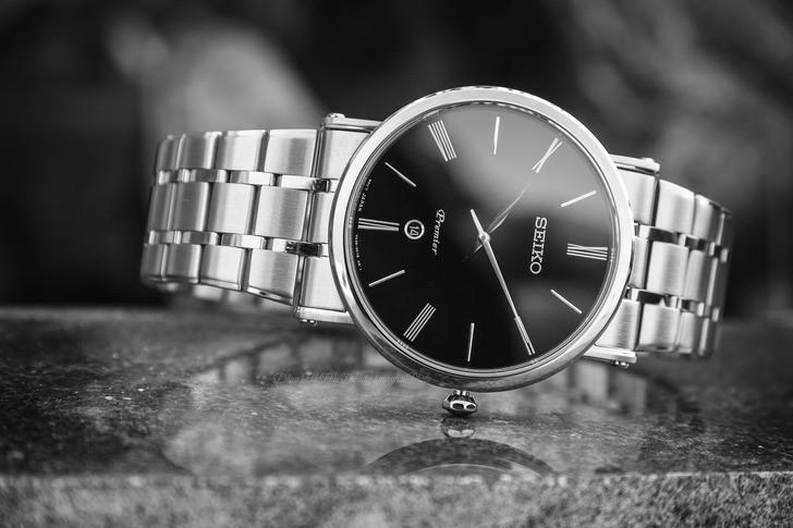 Đồng hồ Seiko SKP393P1 sang trọng, kính sapphire cao cấp - Ảnh 3