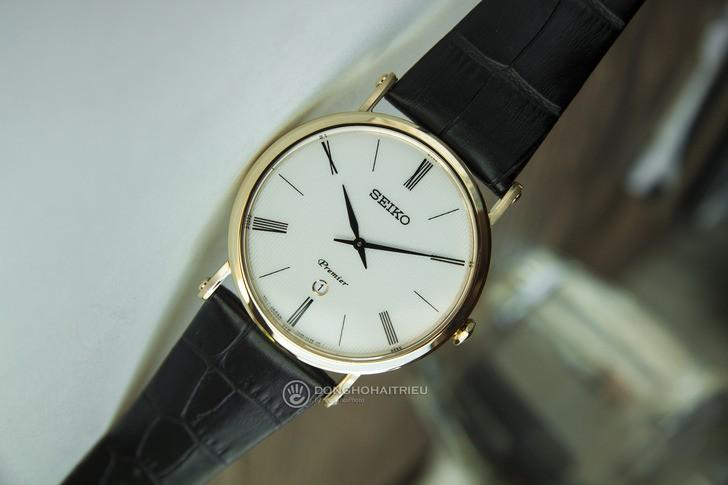 Seiko SKP396P1 phong cách lịch lãm, kính Sapphire chống trầy - Ảnh 1