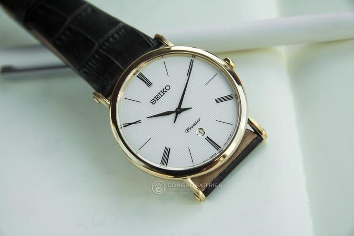 Seiko SKP396P1 phong cách lịch lãm, kính Sapphire chống trầy - Ảnh 2