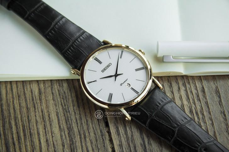 Seiko SKP396P1 phong cách lịch lãm, kính Sapphire chống trầy - Ảnh 3