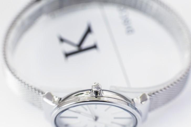 Đồng hồ nữ Skagen SKW2478 siêu mỏng, dây lưới thời trang - Ảnh 4