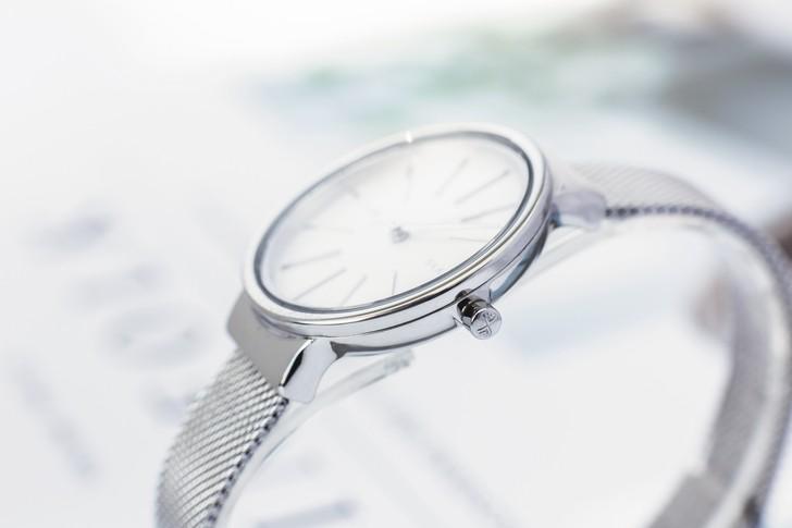 Đồng hồ nữ Skagen SKW2478 siêu mỏng, dây lưới thời trang - Ảnh 5