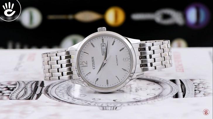Đồng hồ Citizen NH7500-53A automatic, trữ cót đến 40 giờ - Ảnh 1