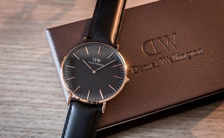 Đồng hồ nam Daniel Wellington DW00100127 thay pin miễn phí - Ảnh 1