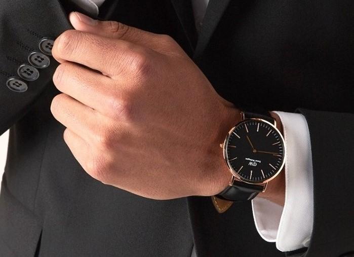 Đồng hồ nam Daniel Wellington DW00100127 thay pin miễn phí - Ảnh 5