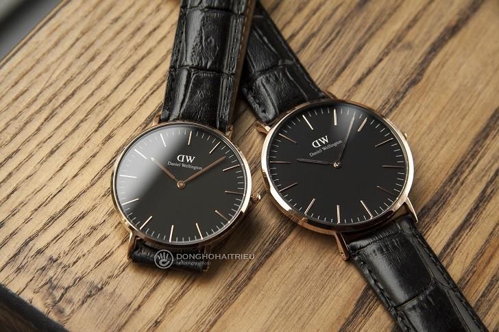 Đồng hồ nam Daniel Wellington DW00100129 thay pin miễn phí - Ảnh 1