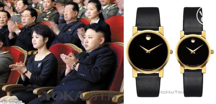 Vén Màn Bí Mật Thú Chơi Đồng Hồ Của Ông Kim Jong-Un Đồng Hồ Đôi