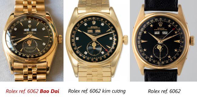 34-69 Tỷ, Đồng Hồ Rolex Đắt Tiền Nhất Từ Trước Đến Nay Là Của Vua Bảo Đại? So Sánh