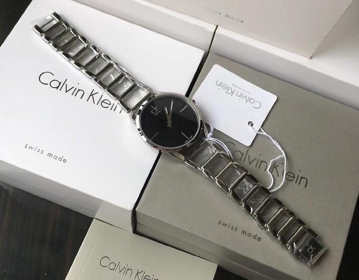 Đồng hồ nữ Calvin Klein K3G23121 thiết kế lắc tay ấn tượng - Ảnh 1