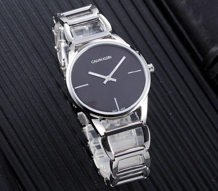 Đồng hồ nữ Calvin Klein K3G23121 thiết kế lắc tay ấn tượng - Ảnh 3