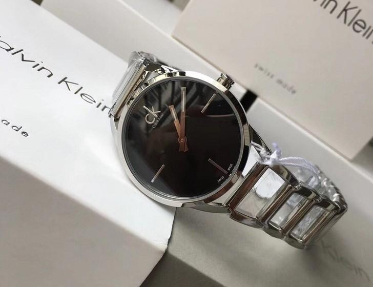 Đồng hồ nữ Calvin Klein K3G23121 thiết kế lắc tay ấn tượng - Ảnh 6