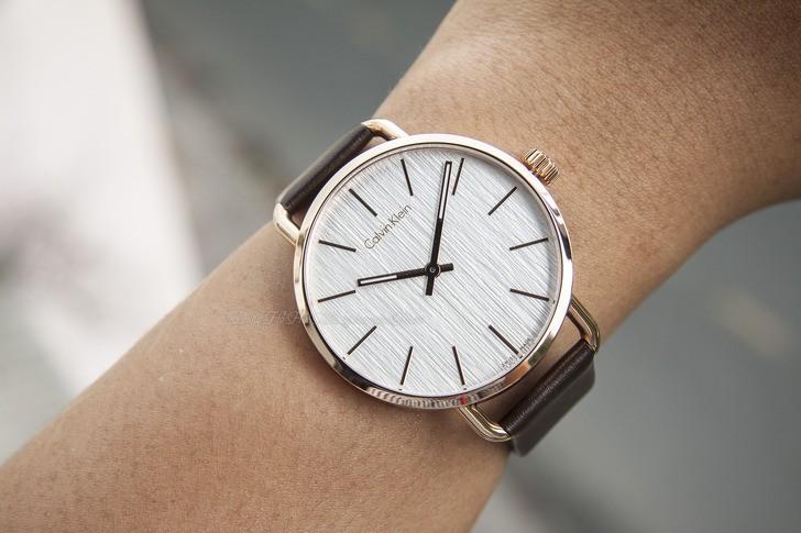 Đồng hồ Calvin Klein K7B216G6 thời trang, dây da lịch lãm - Ảnh 1