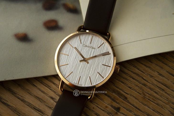 Đồng hồ Calvin Klein K7B216G6 thời trang, dây da lịch lãm - Ảnh 2