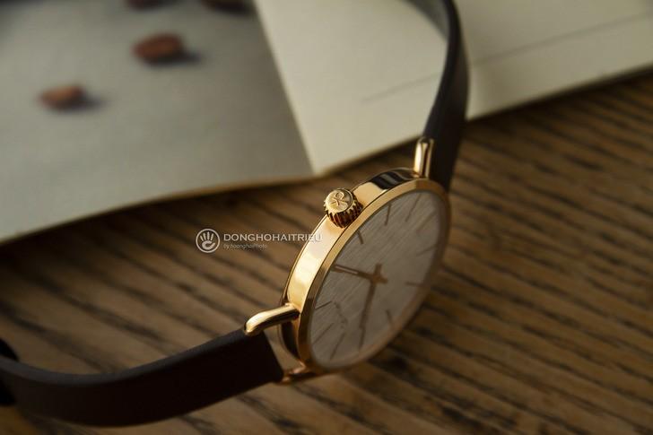 Đồng hồ Calvin Klein K7B216G6 thời trang, dây da lịch lãm - Ảnh 5