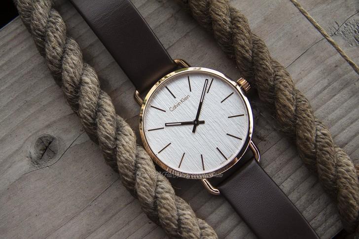 Đồng hồ Calvin Klein K7B216G6 thời trang, dây da lịch lãm - Ảnh 6