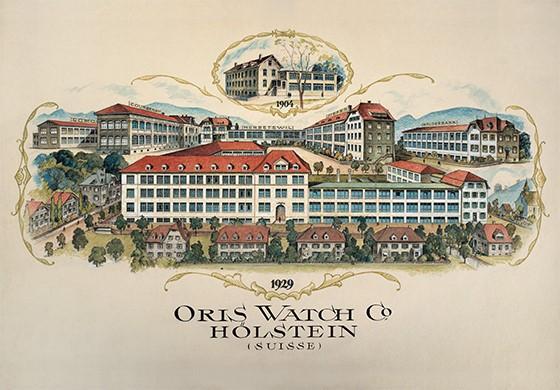 Lịch sử thương hiệu ORIS - Tên gọi bắt nguồn từ con suối quanh vùng đồi Holstein Thuỵ Sỹ 3