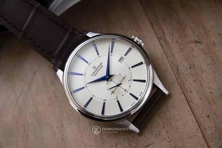 Đồng hồ Candino C4558/2 kính sapphire kim xanh ấn tượng - Ảnh 1