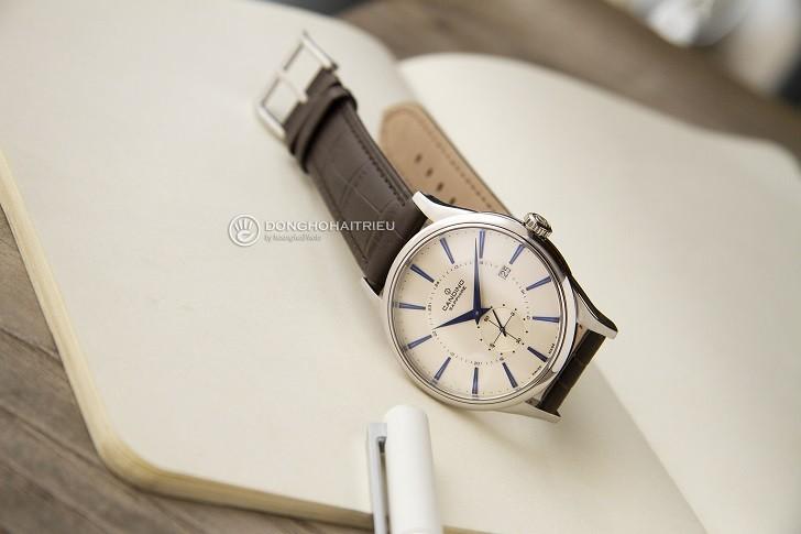 Đồng hồ Candino C4558/2 kính sapphire kim xanh ấn tượng - Ảnh 2