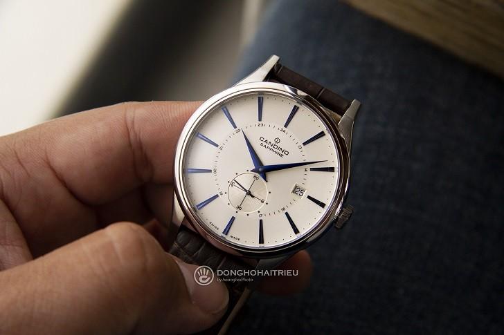Đồng hồ Candino C4558/2 kính sapphire kim xanh ấn tượng - Ảnh 3