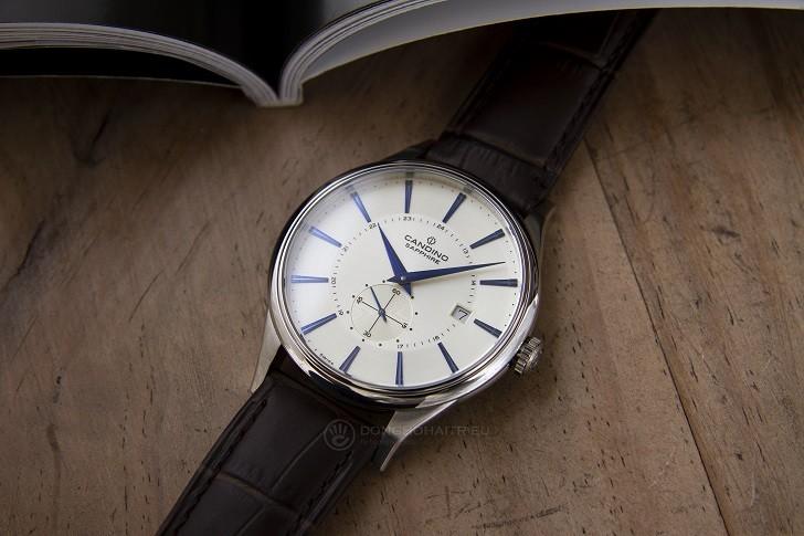 Đồng hồ Candino C4558/2 kính sapphire kim xanh ấn tượng - Ảnh 6