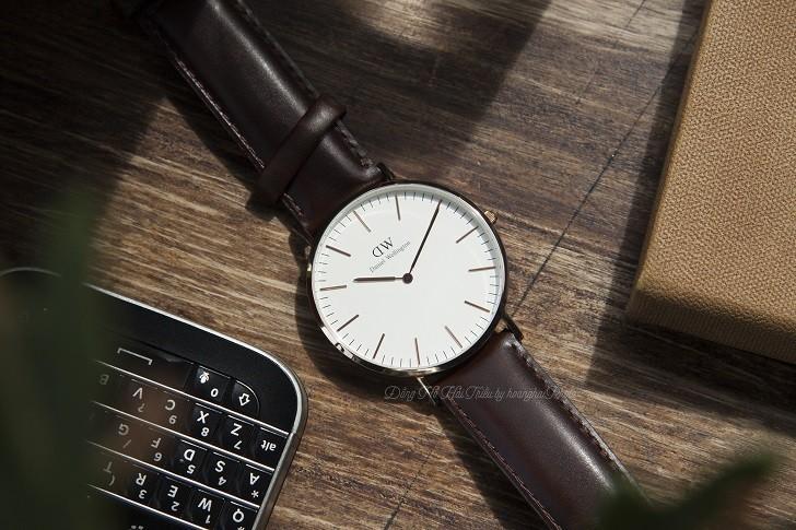 Đồng hồ Daniel Wellington DW00100009 thay pin miễn phí - Ảnh 2