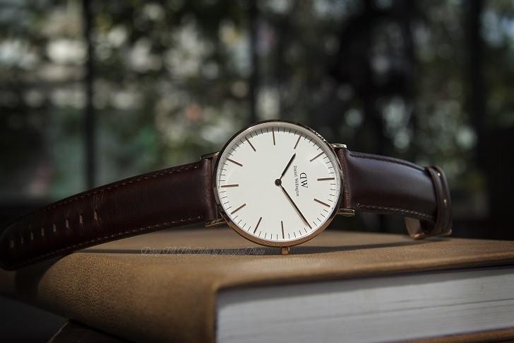 Đồng hồ Daniel Wellington DW00100009 thay pin miễn phí - Ảnh 3