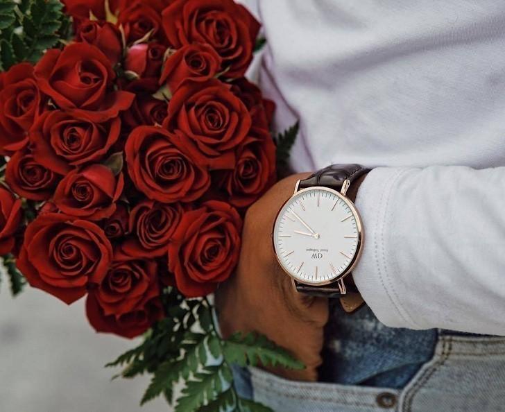 Đồng hồ nữ Daniel Wellington DW00100039 thay pin miễn phí - Ảnh 1