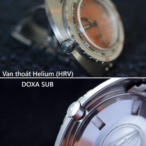 Đồng Hồ Doxa Của Nước Nào Sản Xuất? Chất Lượng Có Tốt Không? Van Helium