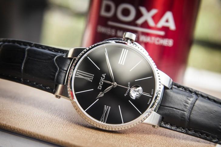Đồng hồ nam Doxa 130.10.102.01 máy cơ hoạt động mượt mà - Ảnh 1
