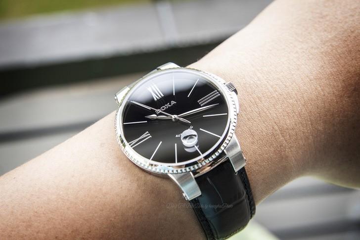 Đồng hồ nam Doxa 130.10.102.01 máy cơ hoạt động mượt mà - Ảnh 5