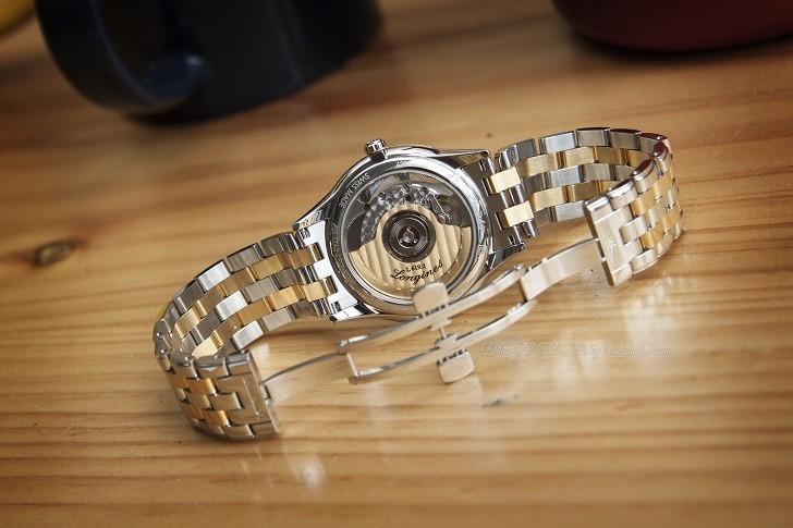 Đồng hồ Longines L4.774.3.21.7 máy cơ ETA, siêu mỏng 7.5mm - Ảnh: 3