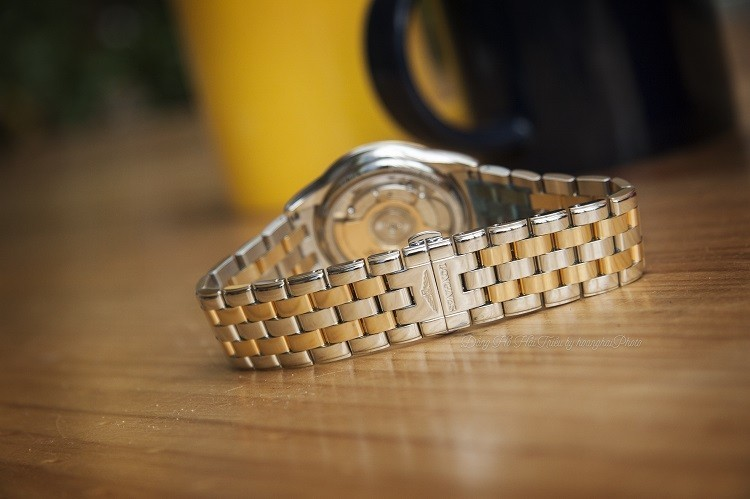 Đồng hồ Longines L4.774.3.21.7 máy cơ ETA, siêu mỏng 7.5mm - Ảnh: 5