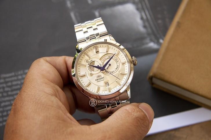 Đồng hồ Orient FET0P002W0 automatic, trữ cót hơn 40 giờ - Ảnh 5