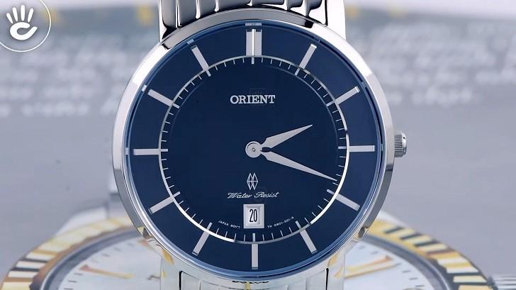 Mẫu Orient FGW01005B0 thời trang kính Sapphire chống trầy - Ảnh 3