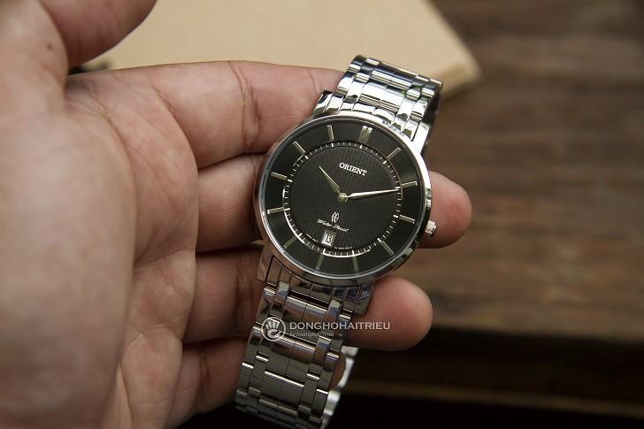 Mẫu Orient FGW01005B0 thời trang kính Sapphire chống trầy - Ảnh 2
