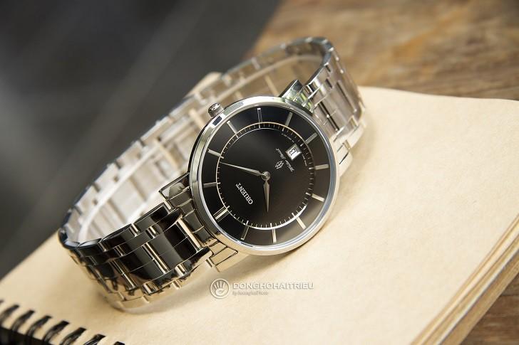 Mẫu Orient FGW01005B0 thời trang kính Sapphire chống trầy - Ảnh 6